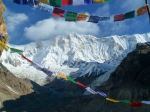 Annapurna from Base Camp
